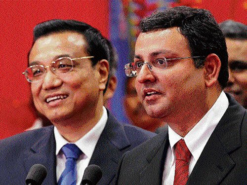 Li Keqiang woos Indian businessmen
