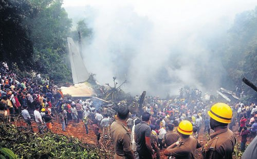Three years on, air crash memories still afresh
