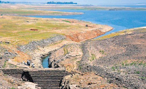 Slight increase in KRS water level