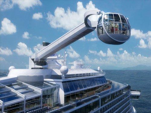 Asia's biggest cruise liner docks in Goa
