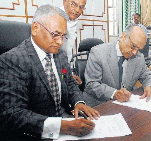 Ravivarma Kumar takes charge as AG