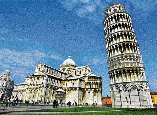 Italy's leaning wonder