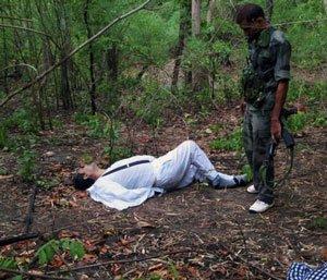 Ch'garh Cong chief, son found dead; PM, Sonia visit state