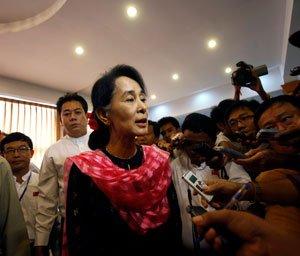 Myanmar's Suu Kyi slams 2-child limit for Muslims
