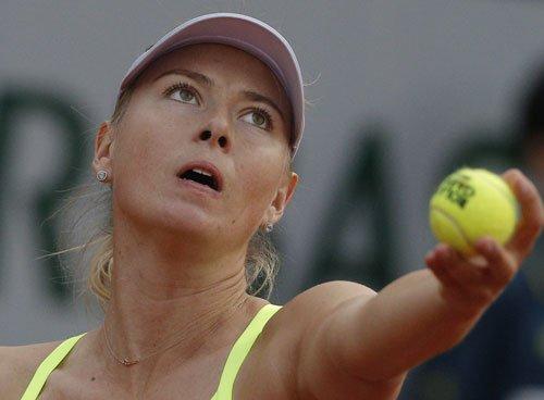 Nadal survives scare, Sharapova serves up storm