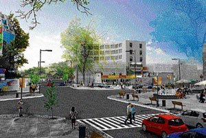 War Memorial Junction may turn hep 'n' happening