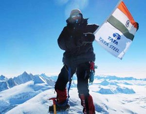 Premlata first Indian woman to climb 7 peaks