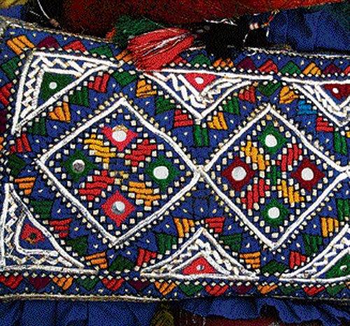 Magical stitches of Banjara needles