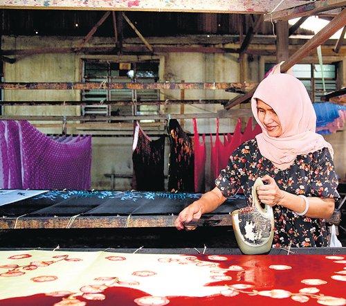 Breathtaking 'batik'
