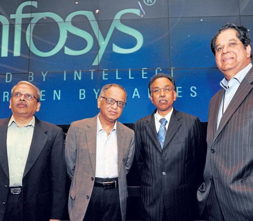 Patriarch's comeback is a reality check for Infy
