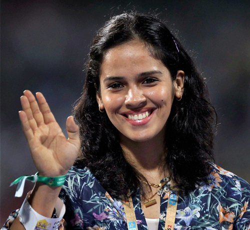 Saina keen to do well on return