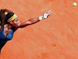 Super Serena cracks Vinci code