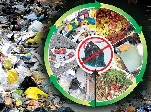 Bangaloreans poor at waste separation