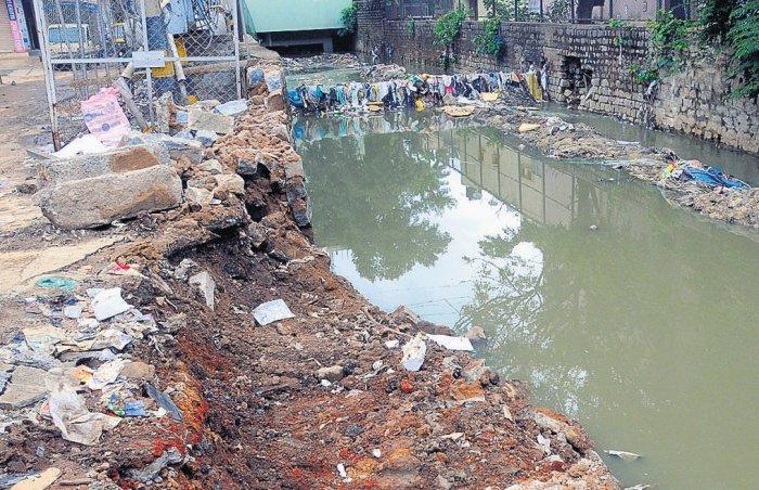 Rain woes dog Sudhamanagar residents