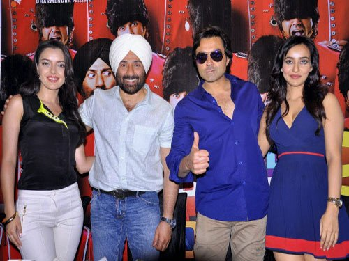 Deols set to create masti this weekend