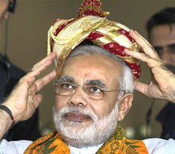 BJP to get Modi to head its poll panel for 2014