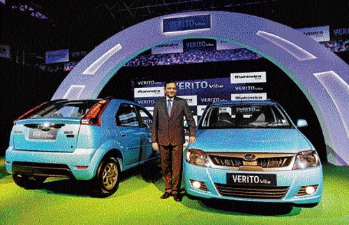 Mahindra joins small car race