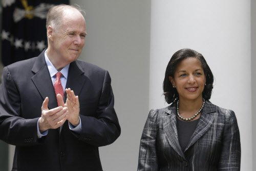Obama snubs Republicans to name Rice national security adviser