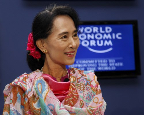 Aung San Suu Kyi says she wants to run for president