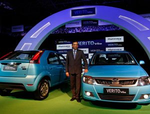 Mahindra Verito Vibes unveiled in Bangalore market
