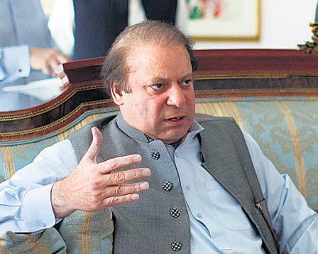Sharif pledges to pursue normalcy in ties with India