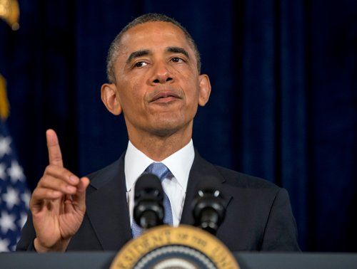 Obama defends phone sweep amid uproar