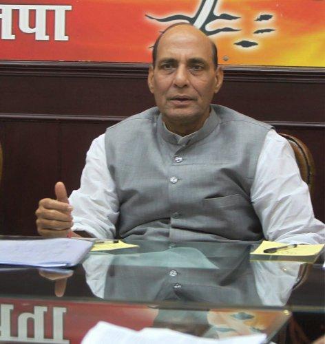 Rajnath Singh promises happy ending to BJP meet