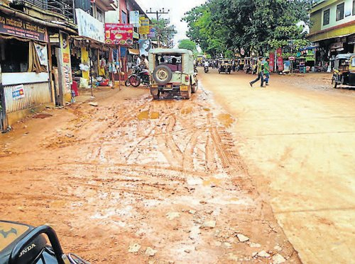 Lack of drains in Sullia a cause for concern