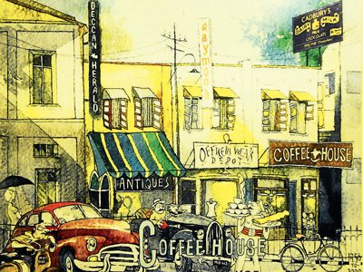 An artist's ode to Old Bangalore