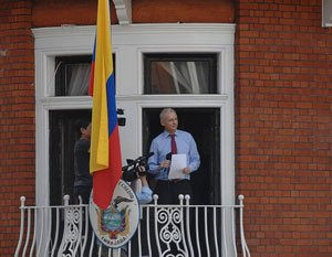 No request from Assange for asylum: India