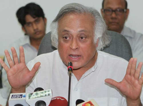 Cong snubs Ramesh, says Modi no threat no challenge