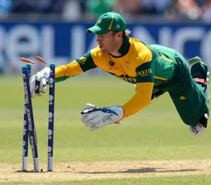 SA captain De Villiers relieved