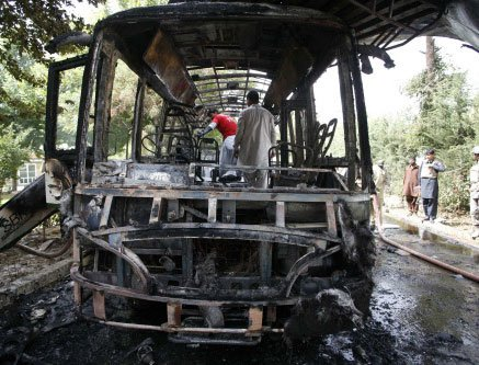 Woman LeJ suicide bomber hit Quetta university bus: police