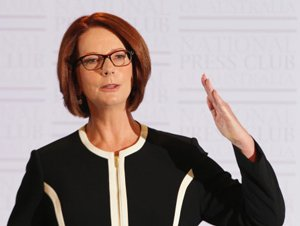 Gender war backfires as men ditch Australia PM