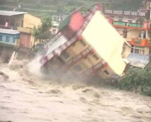 Monsoon fury claims 60 lives in northern India