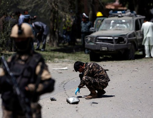 Explosion in Kabul coincides with Afghan security handover