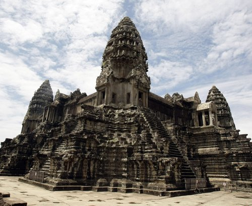 Airborne laser reveals hidden city in Cambodia