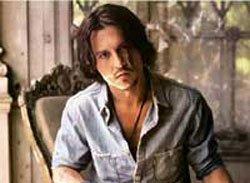 Johnny Depp is almost blind