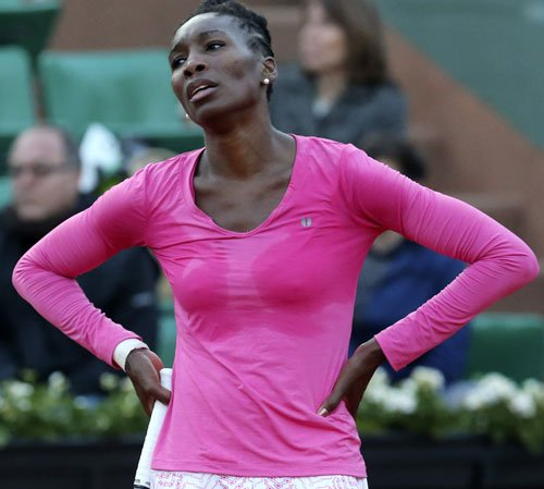Injury forces Venus out of Wimbledon