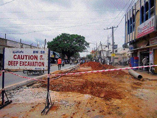 Underground drainage project delayed by 22 months