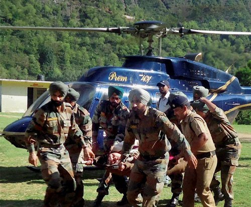 Centre rushing more helicopters to Uttarakhand for rescue ops