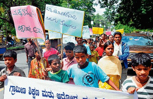 Statistics of child labourers not available