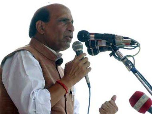 Advani is BJP's foremost ideologue, says Rajnath Singh