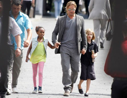 Family make me the richest man alive: Brad Pitt