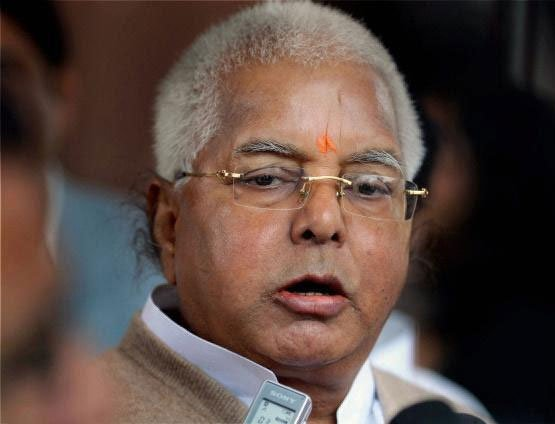 Lalu in trouble as equations change