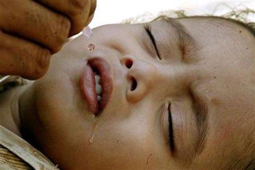 Kid succumbs to polio vaccine