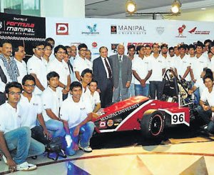 Formula Manipal car to race in two events