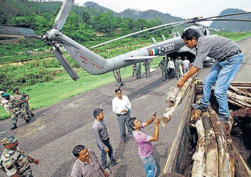 IAF rescue chopper crashes, 8 killed