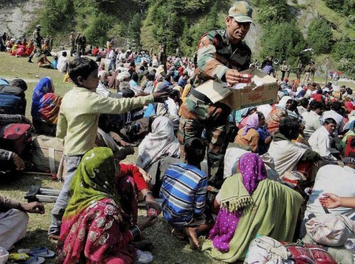 Pilgrims survived on roti bought for Rs 100