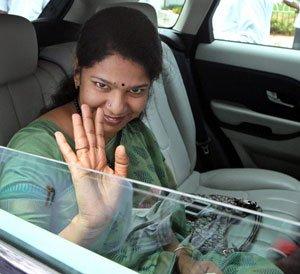 Kanimozhi, Raja elected to Rajya Sabha
